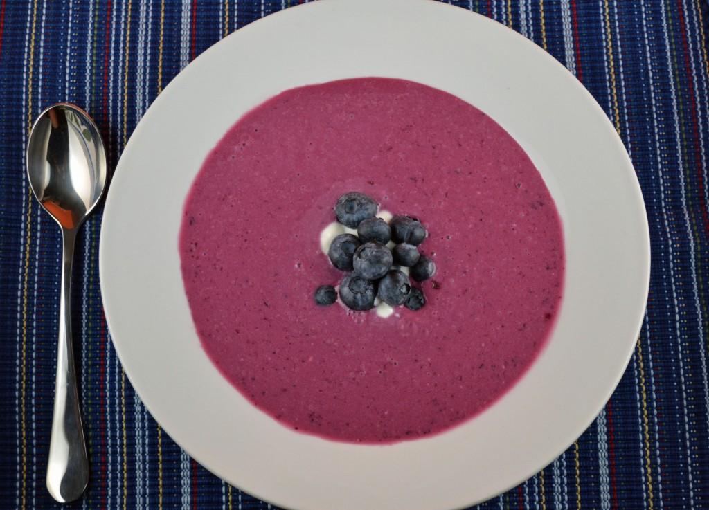 Chilled Blueberry Soup | ImPECKable Eats