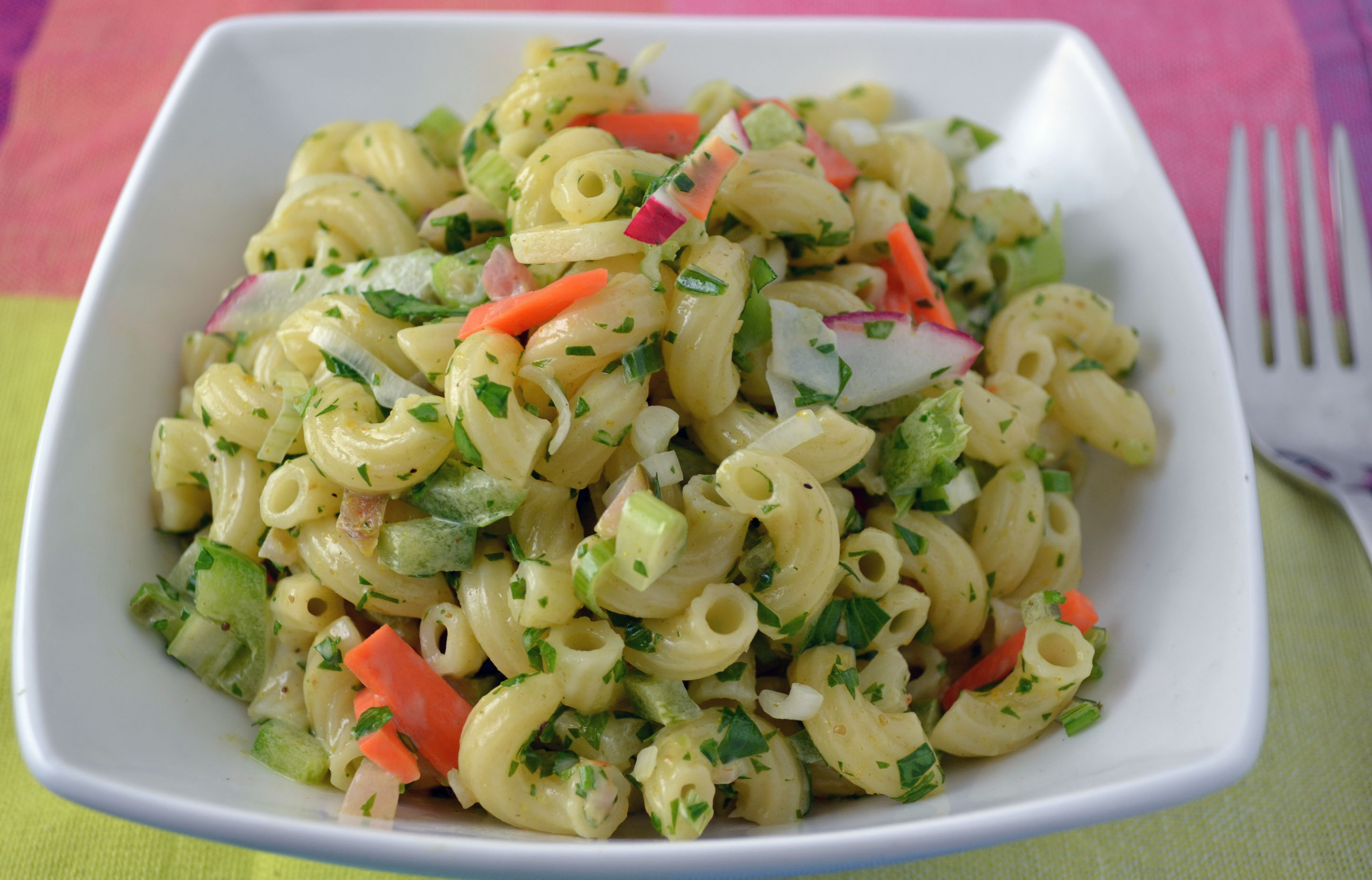 Curried Macaroni Salad